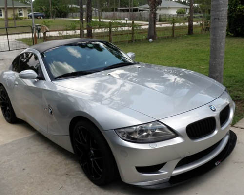Apr Carbon Fiber Front Splitter Bmw Z4m 02 08