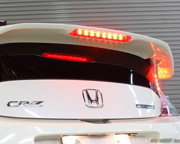 C West Rear Spoiler With Brake Light Abs Primer Honda Cr Z 11