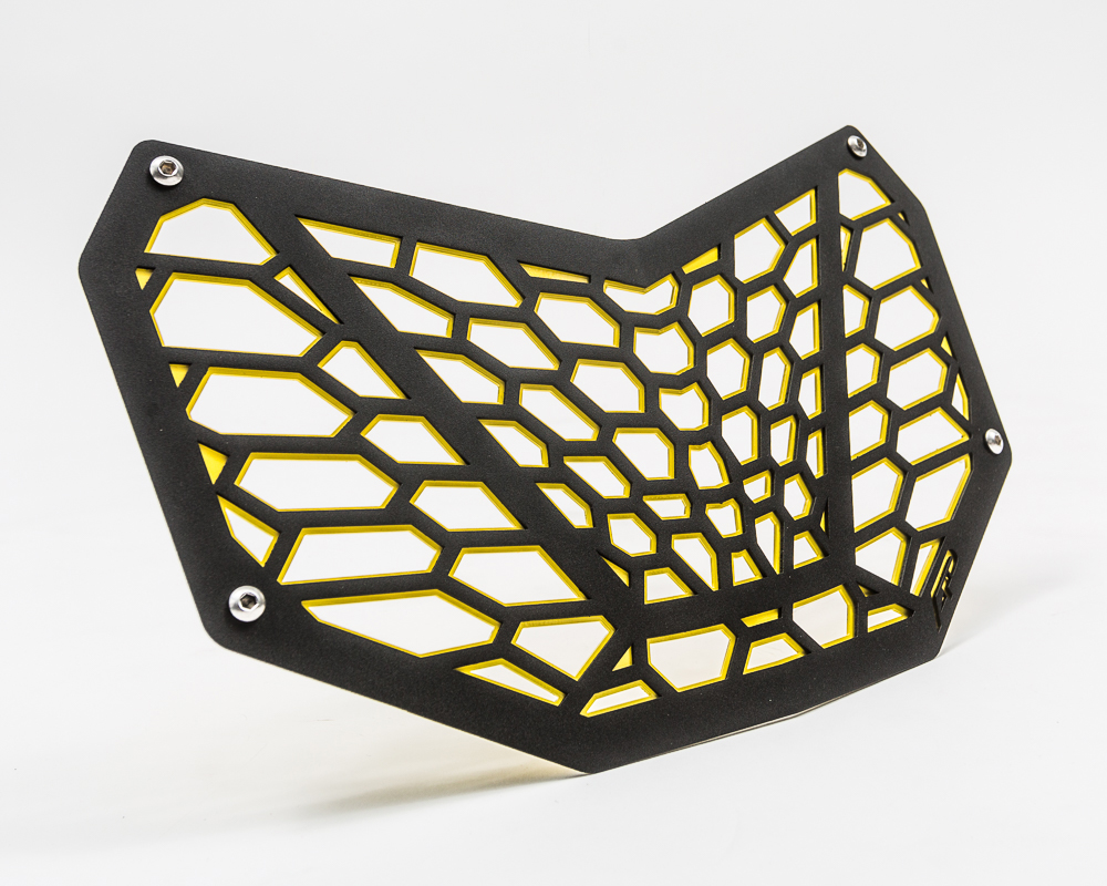 Agency Power Premium Grill Can-Am Maverick X3 | Black and Yellow - AP-BRP-X3-635-YLW