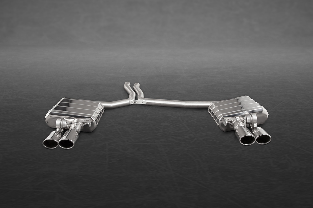 Capristo Exhaust High Performance Exhaust System with Remote Audi S4   S5 B8 2009-2021 - 02AU03103001