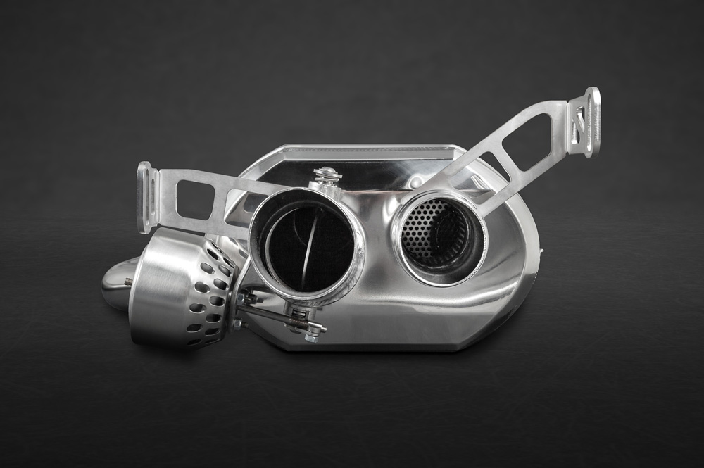 Capristo Bentley Continental GT Speed W12 Valved Exhaust System w/o Remote - 02BE04103001