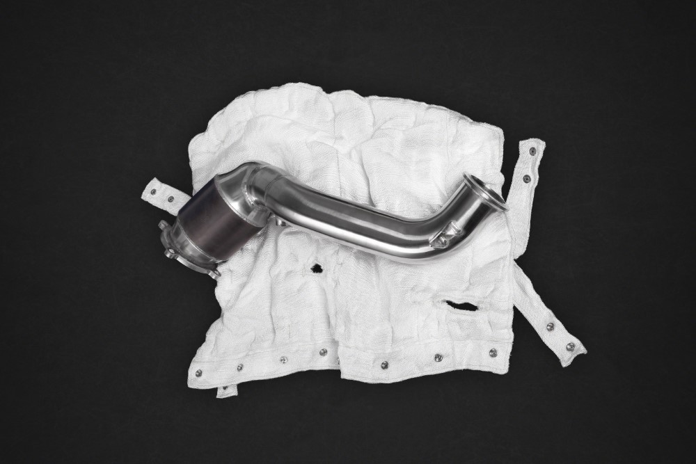 Capristo 100 Cell Sports Cats Downpipes w/ Heat Blankets McLaren 720S - 02ML110.720SportCat100