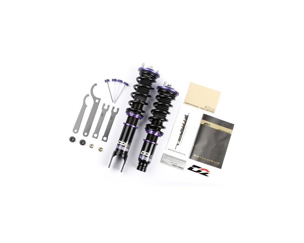 D2 Racing RS Series Coilover Kit Mazda RX7 1992-1997 - D-MA-30-RS