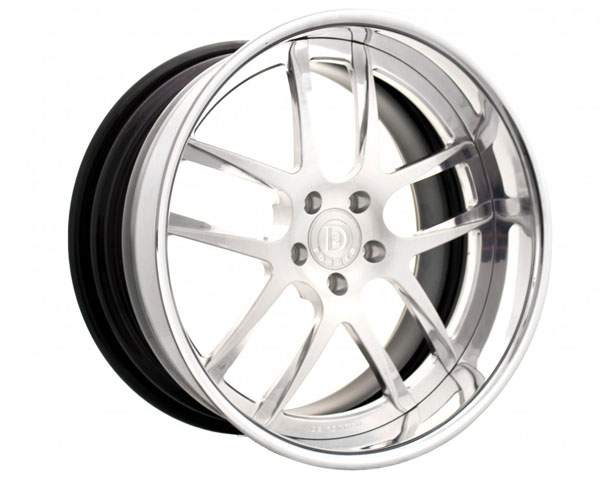 Image of D2FORGED FMS08 Forged 3-Piece Wheel 18 Inch