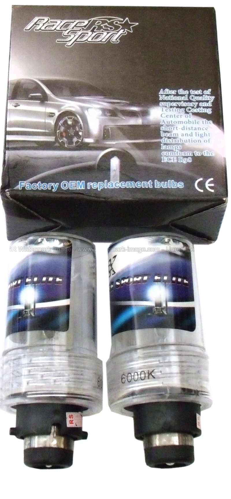 Race Sport Lighting Professional Series D4 Pink OEM Factory HID Replacement Bulbs - RS-D4PINK-RB