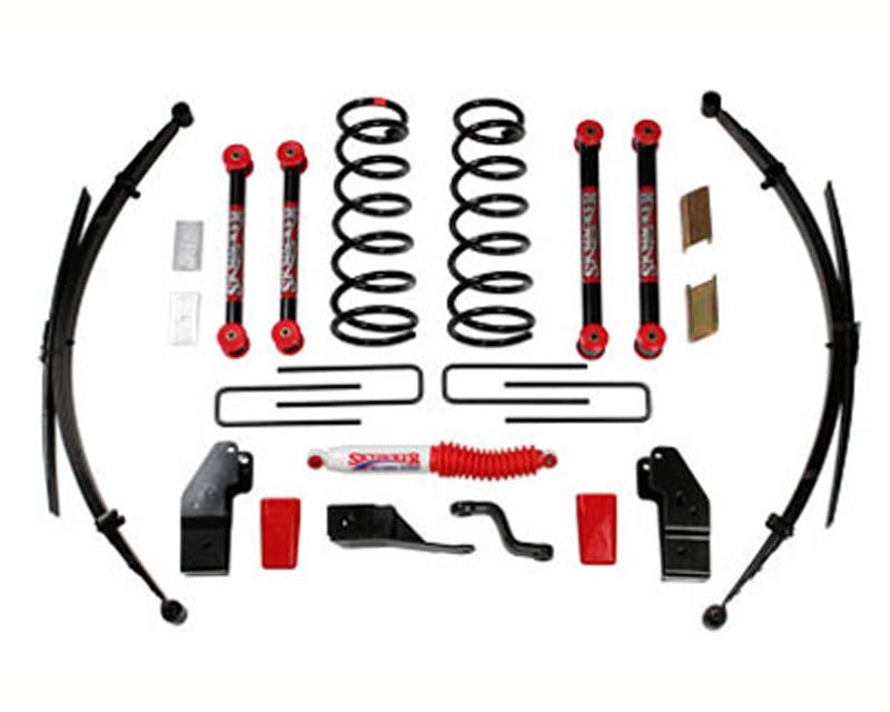 Skyjacker 5 Inch Lift Kit Dodge Ram 1500 V8 4WD 00-01 - D5022KS