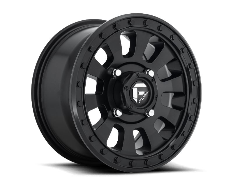 Fuel 1PC D630 Tactic Wheel 20.00x9.00 5x127.00 +13mm Matte Black - D63020907557