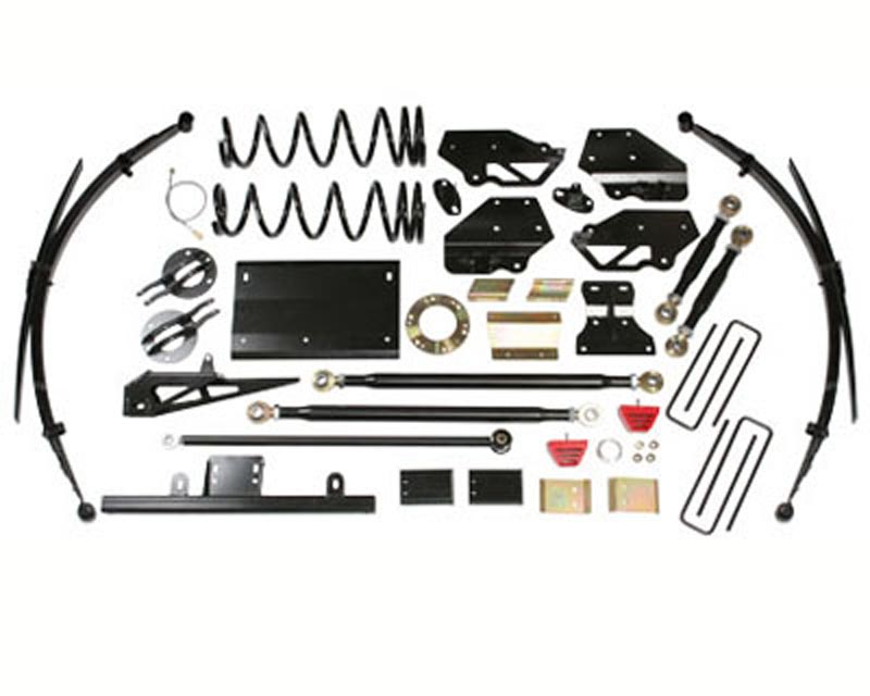 Skyjacker 7 Inch Lift Kit Dodge Ram 1500 V8 4WD 00-01 - D702KS-DX