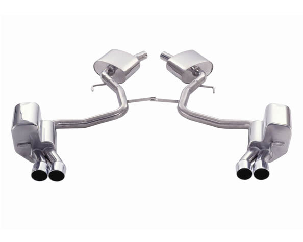 Eisenmann Stainless Catback Exhaust 4x76mm Round Tips Mercedes-Benz SL500 02-06 - D7243.00760