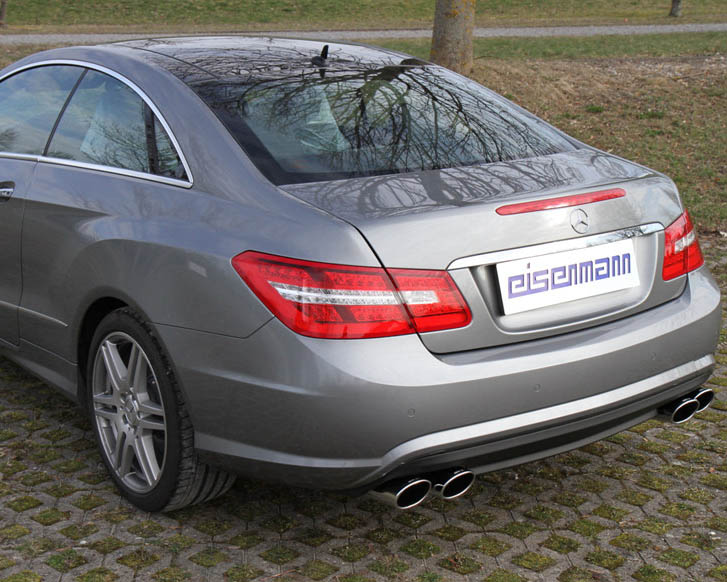 Eisenmann Stainless Catback Exhaust 4x120x77mm Oval Tips Mercedes