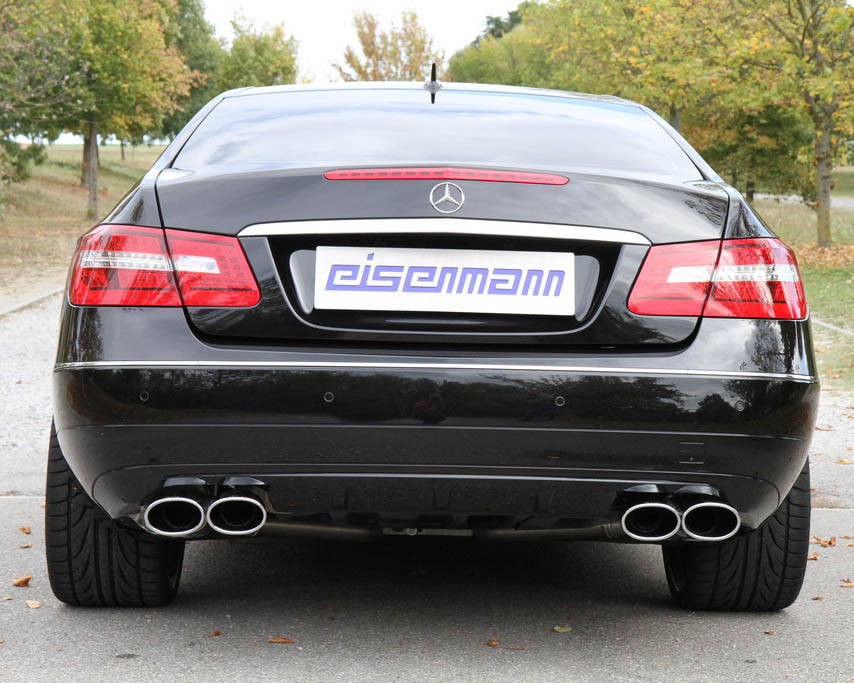 Eisenmann Stainless Catback Exhaust 4x120x77mm Oval Tips Mercedesbenz E350 Coupe 1213: Mercedes E350 Exhaust System At Woreks.co