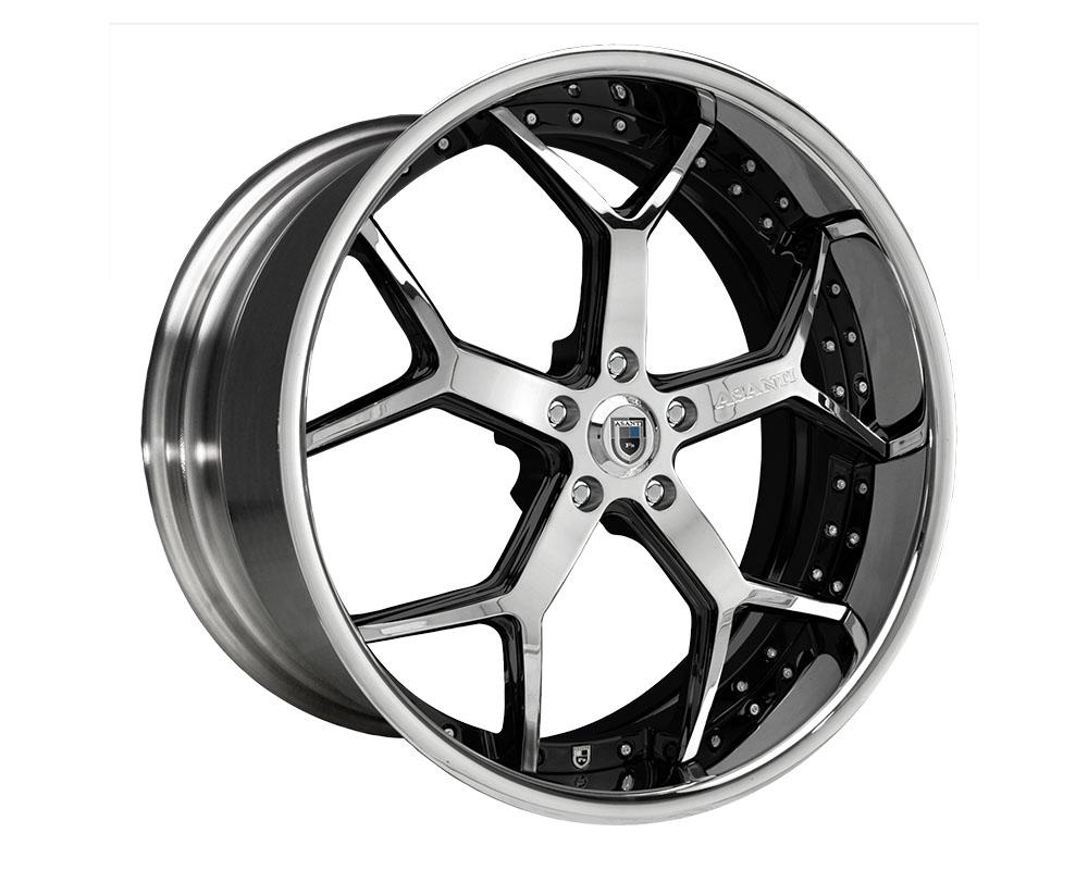 Asanti Forged DA164 Wheel 20x10 Blank +0mm Custom Finishes - DA164210004XX