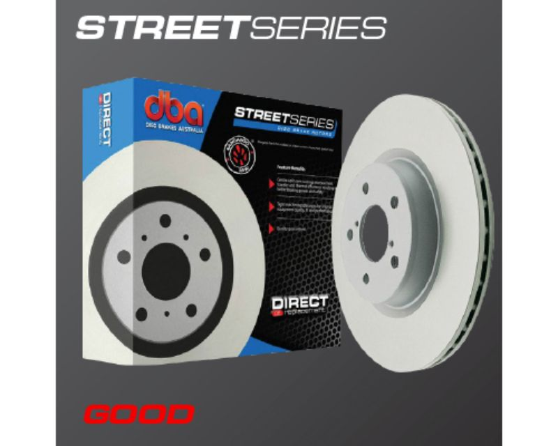 DBA Front Drilled & Slotted Street Series Rotor Nissan 350Z 03-05 | Infiniti G35 03-05 - 954X