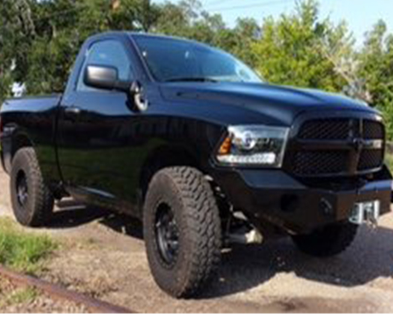 Ram 1500 Bumper >> Expedition One Bare Metal Front Bumper Ram 1500 14 18