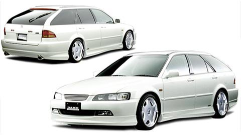 Damd trunk tail gate 01 honda accord wagon cfch 98 02 publicscrutiny Image collections