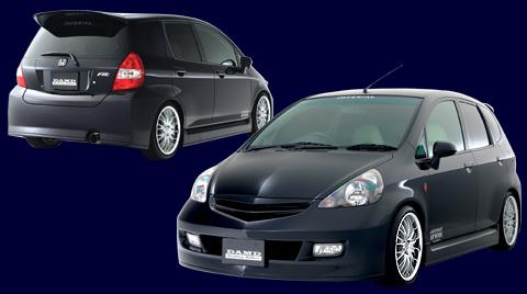DAMD Roof Spoiler   Hatch Spoiler 01 Honda Fit GD1-4 01-09 - DMD35611430001