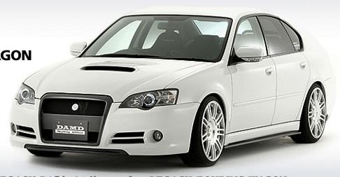 DAMD Aero Parts 4Piece Kit 01 Subaru Legacy Sedan B4 05-09 - DMD60231040001