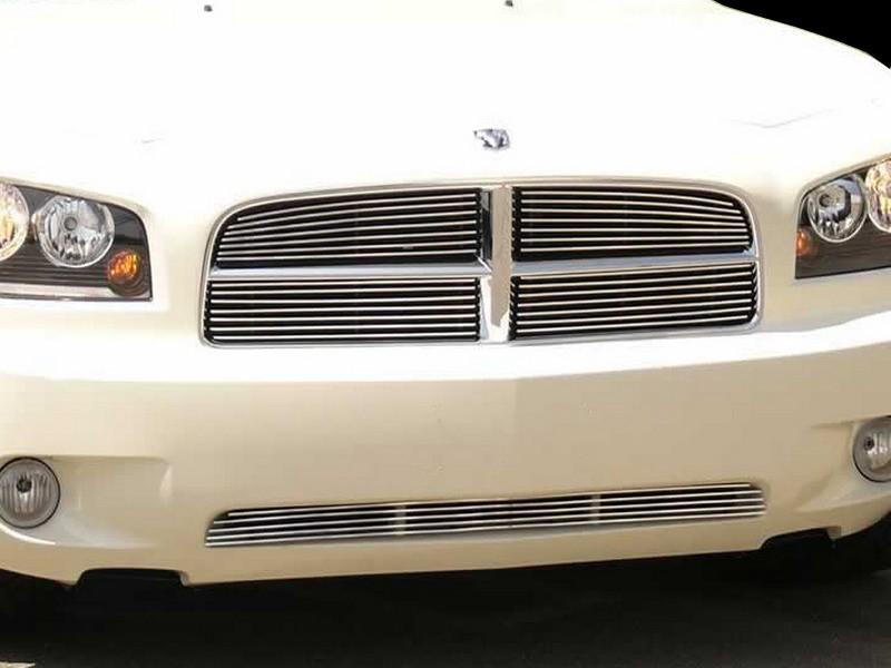 Image of Grillcraft BG Series Bumper Billet Grille Dodge Charger 06-08