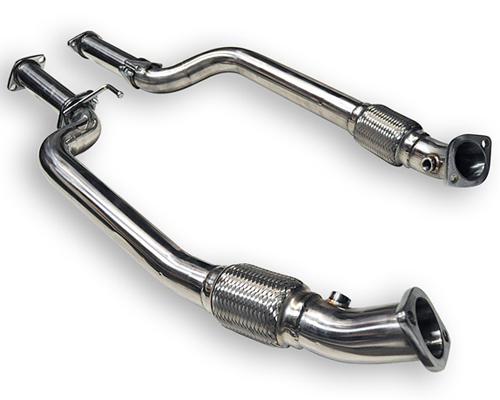 ARK Stainless 2.5 Inch Downpipes & Race H-Pipe Hyundai Genesis Coupe 3.8L 10-12 - DP0702-0038