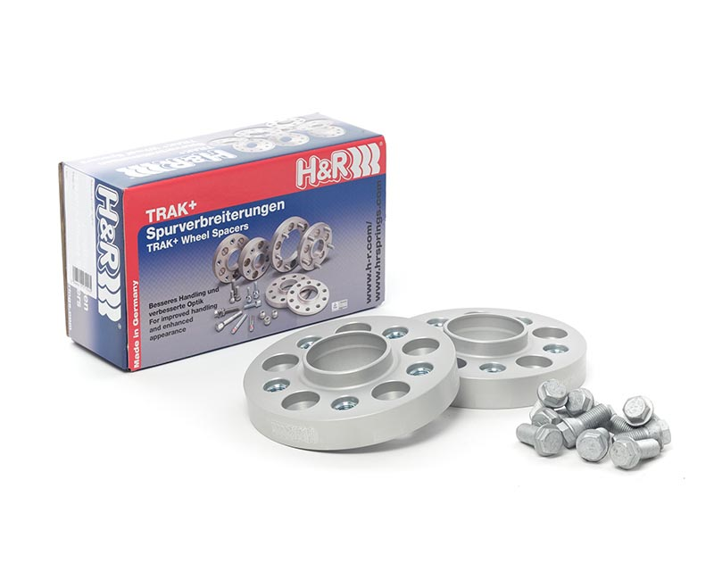 H&R Trak+ | 5/100 | 56 | Stud | 12x1.25 | 25mm | DRM Wheel Spacer Subaru WRX Type GD, GG Sedan, Sport Wagon 04-07 - 5025560