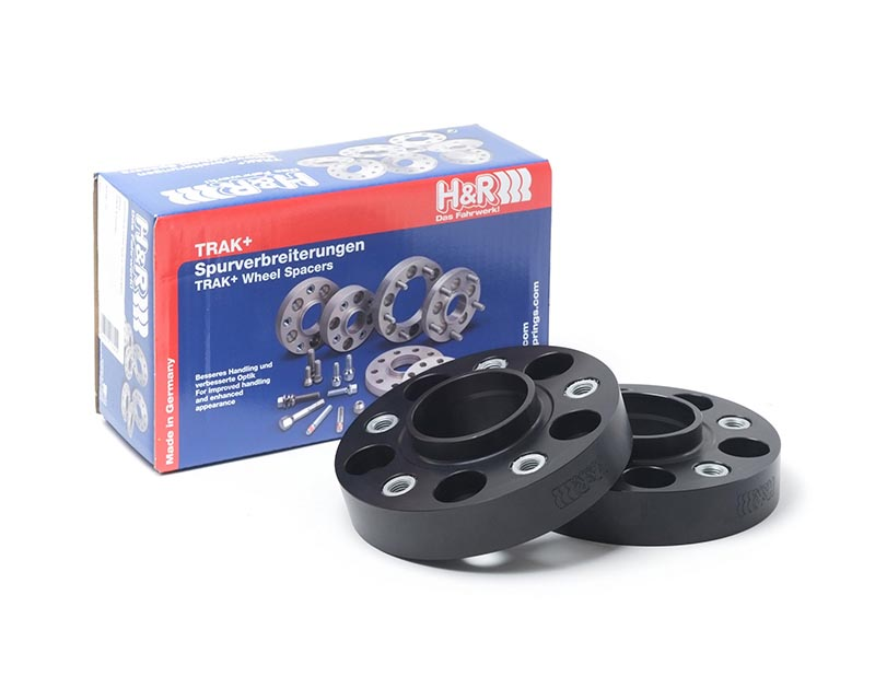 H&R Trak+ | 5x112 | 66.5 | Bolt | 14x1.5 | 30mm DRA Wheel Spacer Mercedes-Benz C300 4MATIC Sedan W204 08-14 - 60556651
