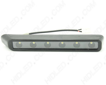 LED Daytime Running Light HID Kit I-Shaped w/6 LEDs