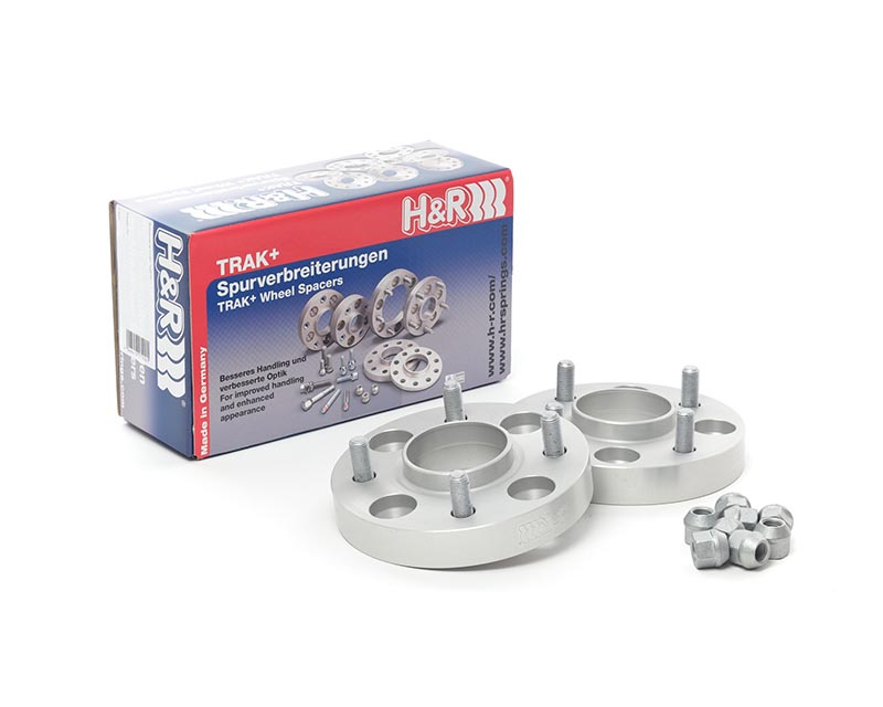 H&R Trak+ | 5x112 | 66.5 | Bolt | 14x1.5 | 25mm DRA Wheel Spacer Audi A5 2WD, Type B8 08-16 - 50556651