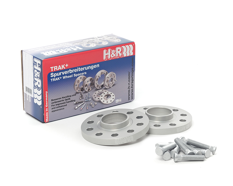 H&R Trak+ | 5x112 | 66.5 | Bolt | 14x1.5 | 15mm DR Wheel Spacer Mercedes-Benz E350 W211 03-09 - 30556659