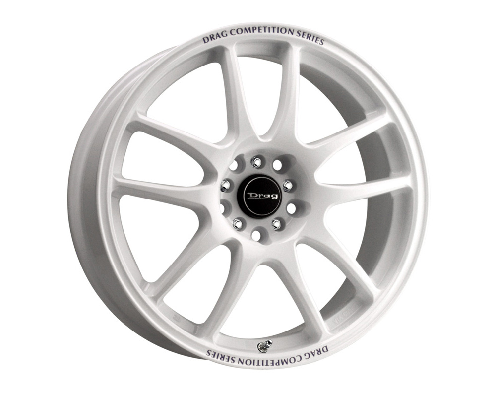 Drag DR-31 White Full Painted 17x8 5x100/114.3 35 - DR31178053573W1
