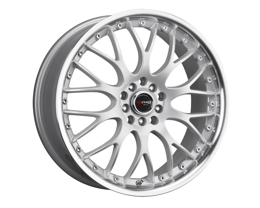 Drag DR-19 Silver Machined Lip 17x7.5 5x100/114.3 45mm - DR191775054573S