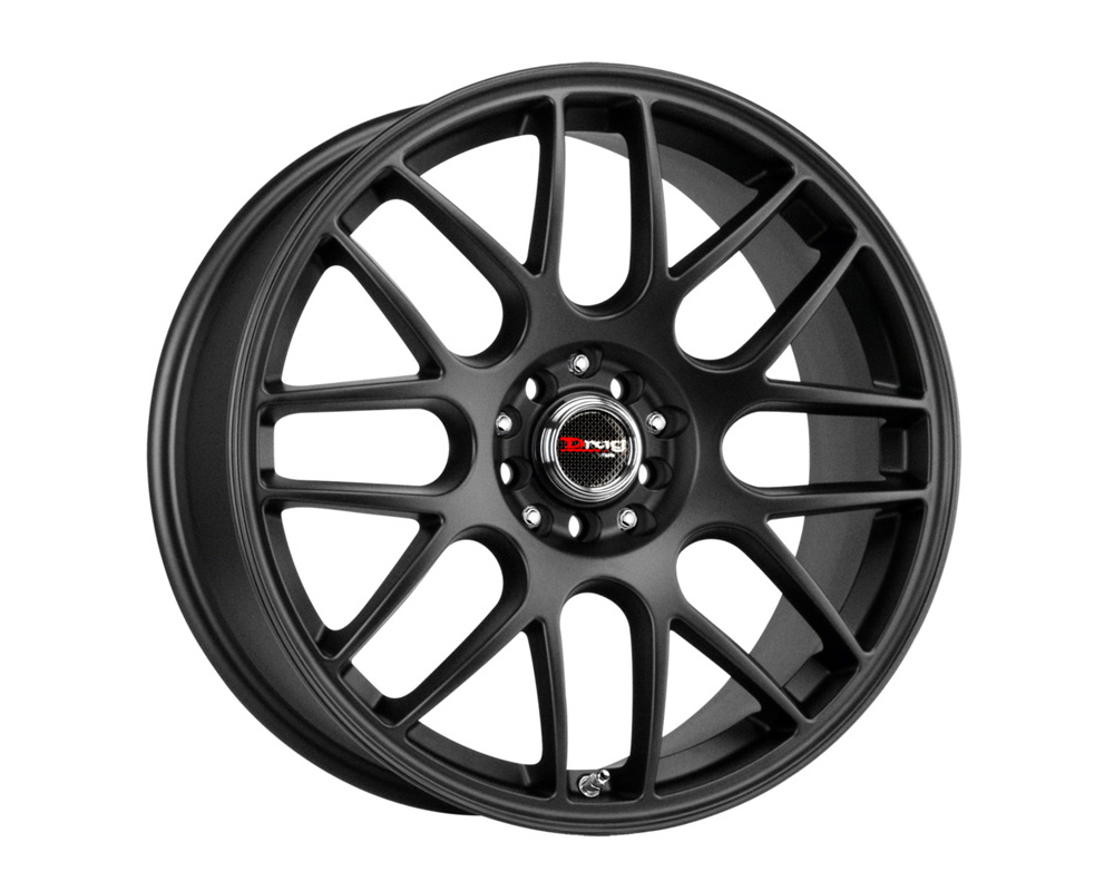 Drag DR-34 Flat Black Full Painted 16x7 4x100/114.3 40 - DR34167044073BF1