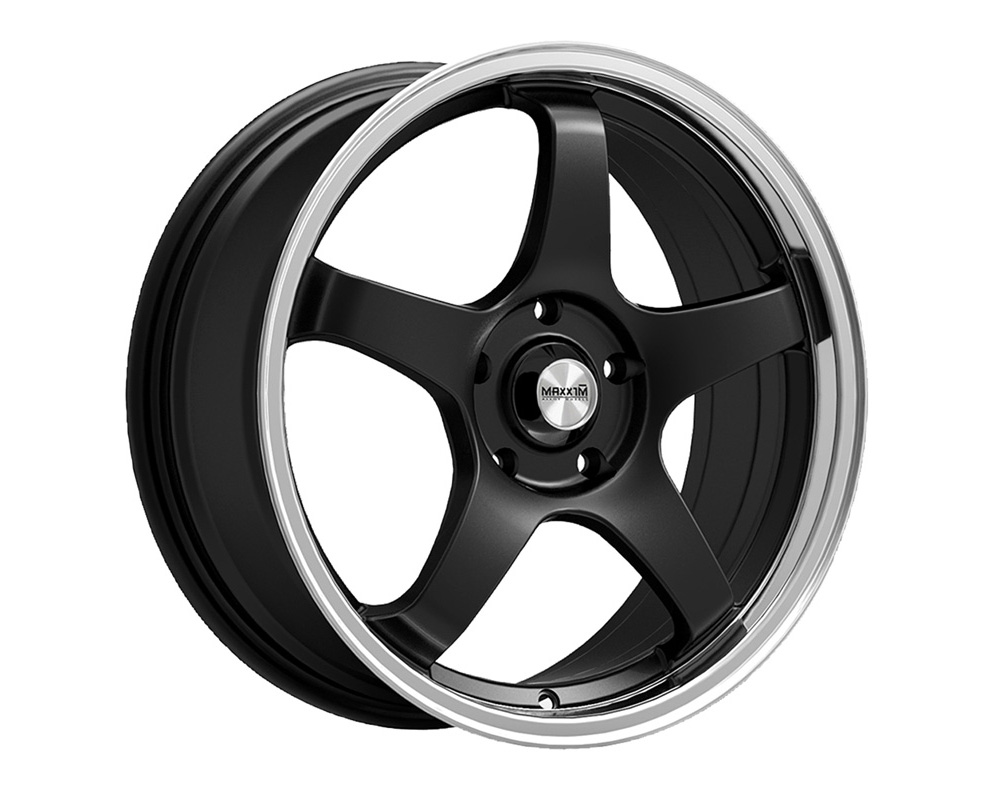 Maxxim Wheels Champion Gloss Black w/Machined Lip Wheel 16x7 5x110/115 40 - CM67T15405