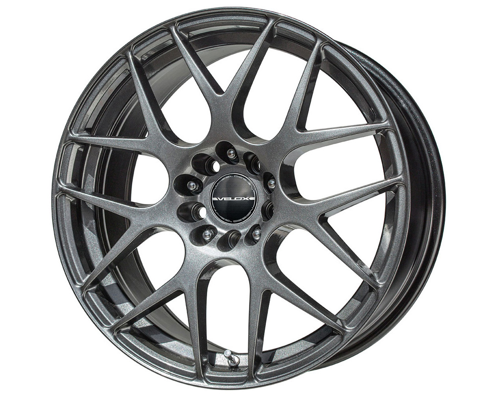 Velox Apex Black Metallic Wheel 16x7 5x112 40 - 80016005
