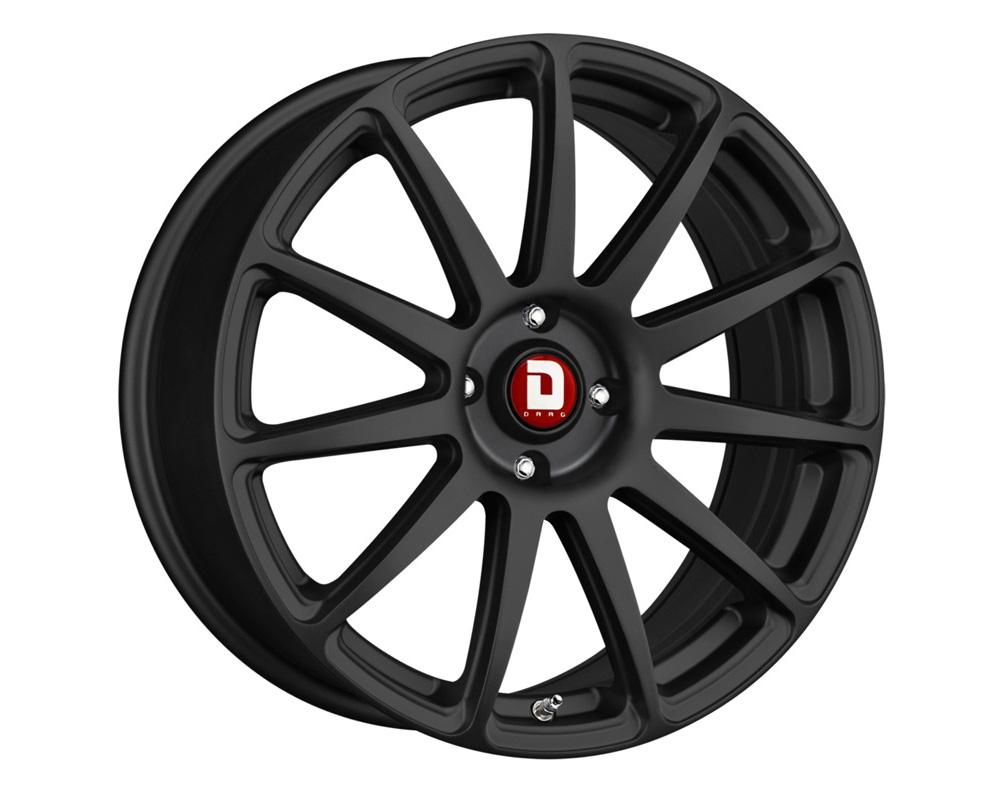 Drag DR-69 Flat Black Full Painted 17x7.5 5x108/114.3 40 - DR691775314073BF1