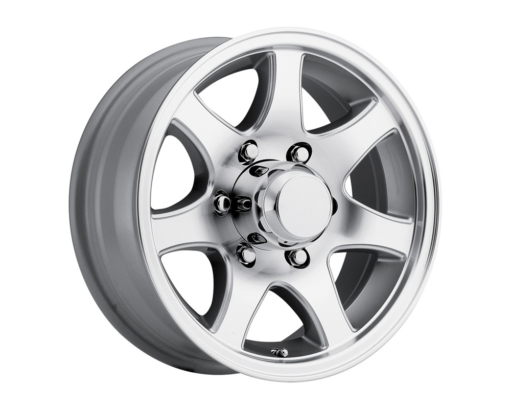Sendel T-02 Silver Machined Wheel 14x5.5 5x114.3 0 - T02-45545T