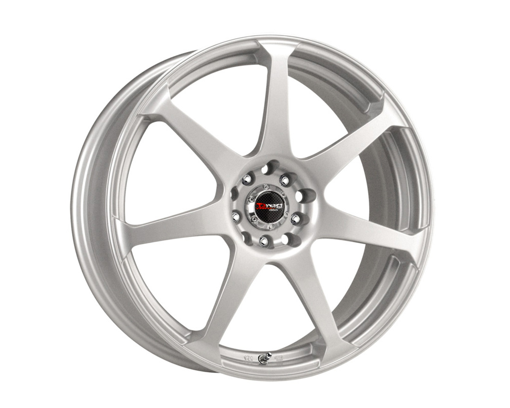 Drag DR-33 Silver Full Painted 17x7.5 4x100/114.3 42 - DR331775044273S1