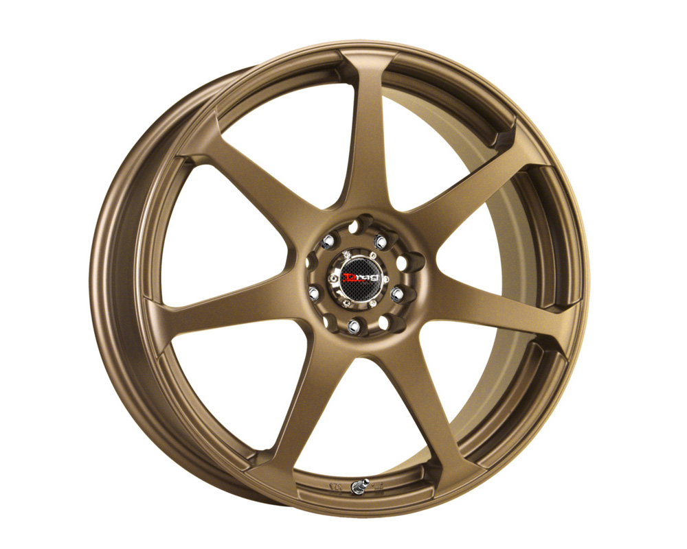 Drag DR-33 Rally Bronze Full Painted 17x7.5 5x100/114.3 45mm - DR331775054573RBZ1