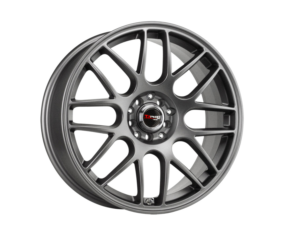 Drag DR-34 Charcoal Gray Full Painted 18x8 5x100/114.3 35 - DR34188053573GMF1