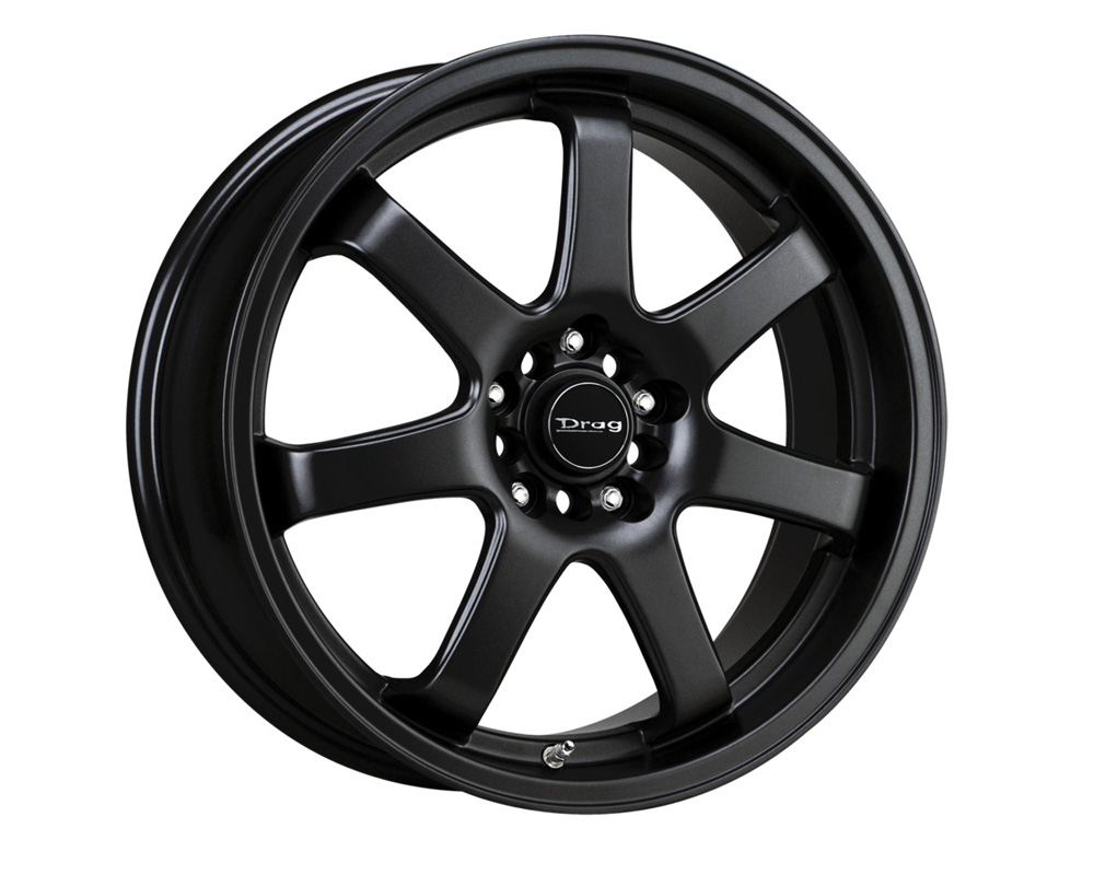 Drag DR-35 Flat Black Full Painted 17x7.5 4x100/114.3 42 - DR351775044273BF1