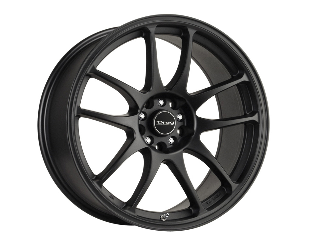 Drag DR-31 Flat Black Full Painted 17x7 4x100/114.3 40mm - DR31177044073BF1