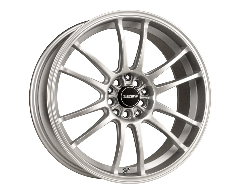 Drag DR-38 Silver Full Painted 17x7 5x100/114.3 40 - DR38177054073S1