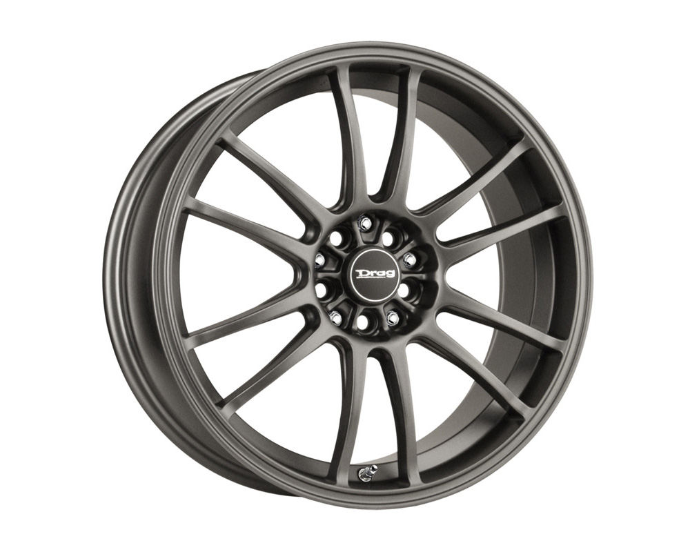 Drag DR-38 Charcoal Gray Full Painted 17x9 5x100/114.3 17 - DR381790517073GMF1