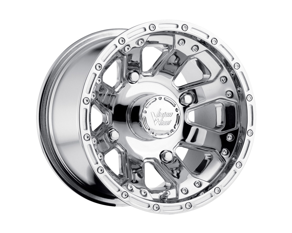 Vision 159 ATV Chrome Wheel 14x7 4x115 4+3 - 159-147115C4