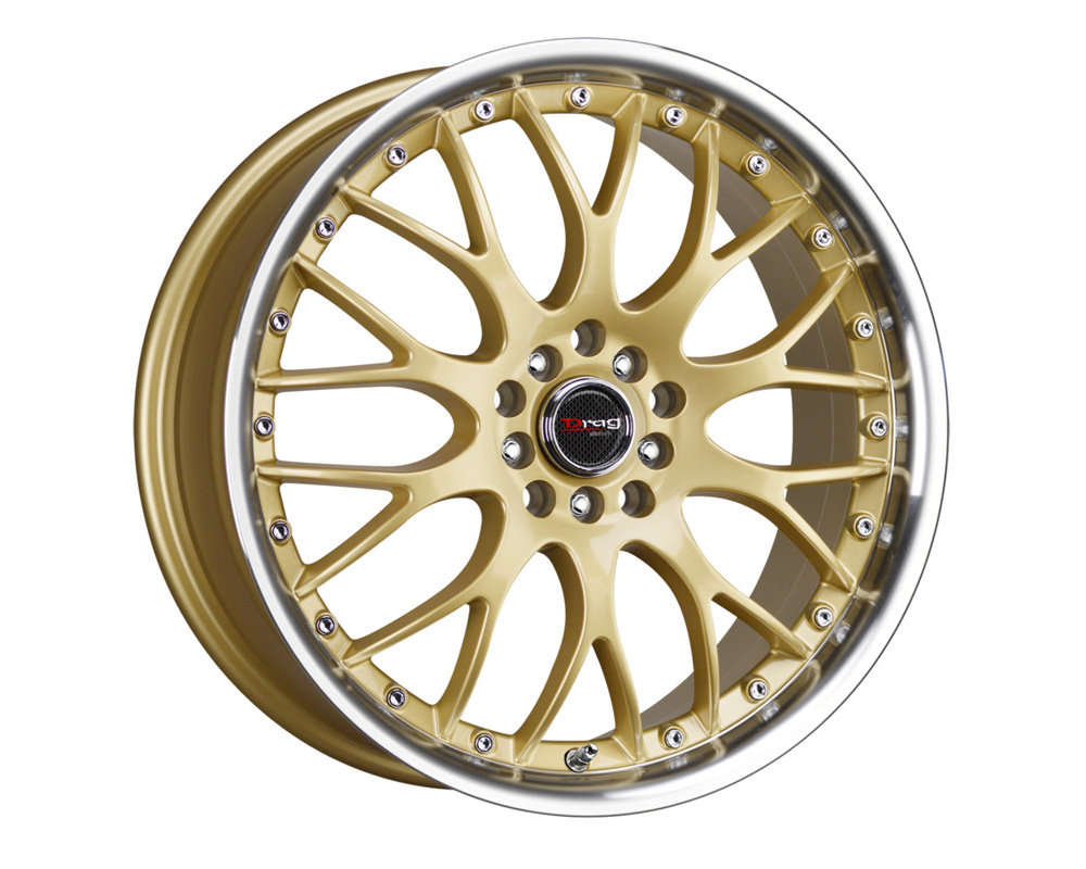 Drag DR-19 Gold Machined Lip 17x7.5 4x100/114.3 42 - DR191775044273GD