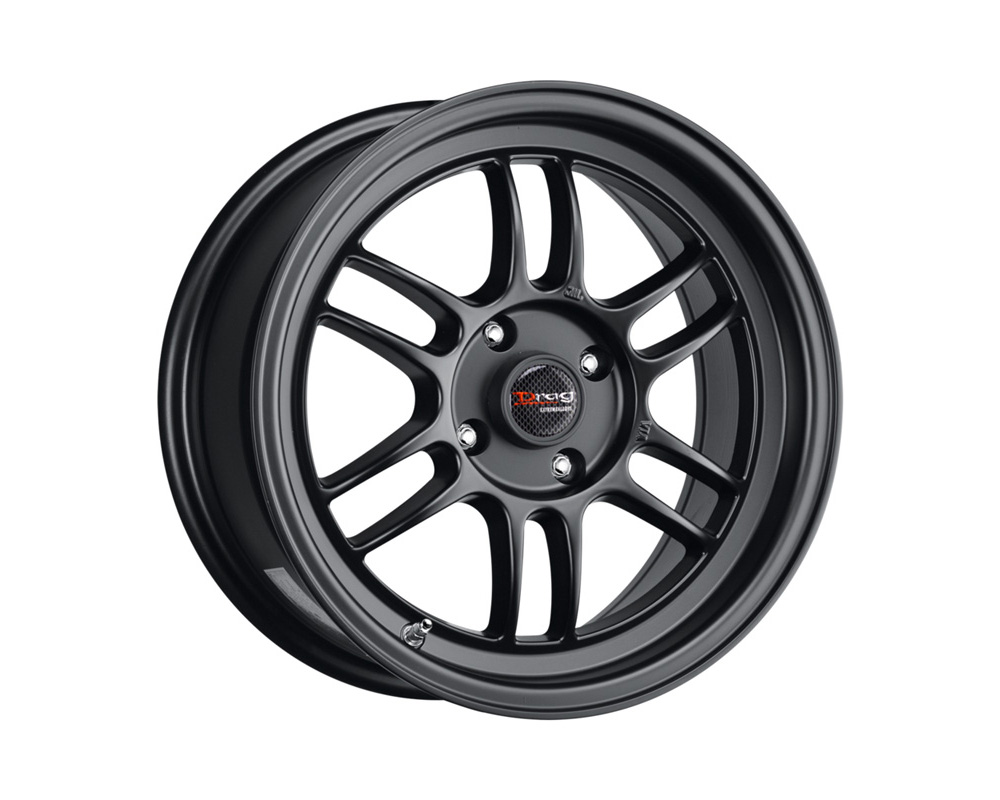 Drag DR-21 Flat Black Full Painted 15x7 4x100 40mm - DR21157044073BF1