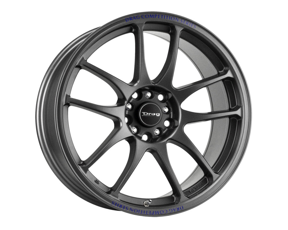 Drag DR-31 Charcoal Gray Full Painted 17x8 5x100/114.3 35mm - DR31178053573GMF1