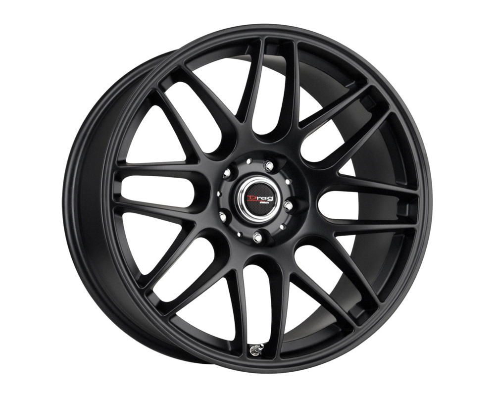 Drag DR-37 Flat Black Full Painted 19x9.5 5x120 30 - DR371995233072BF1