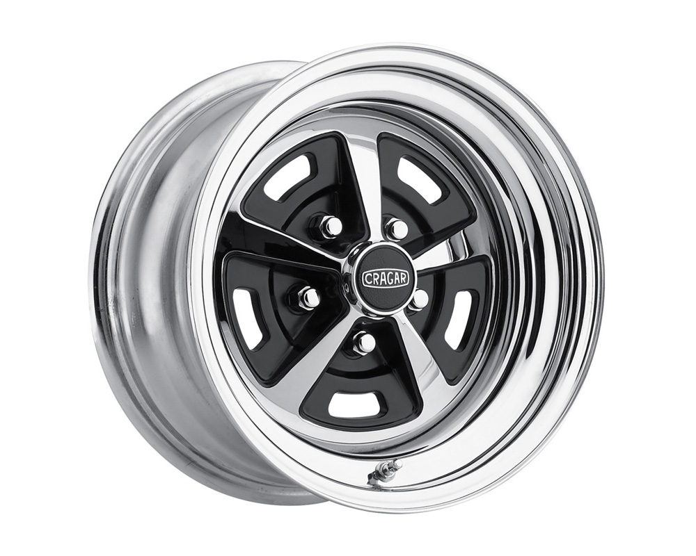 Cragar Wheels Magnum Chrome w/Black Accents Wheel 15x8 5x120.65 0 - 510583445