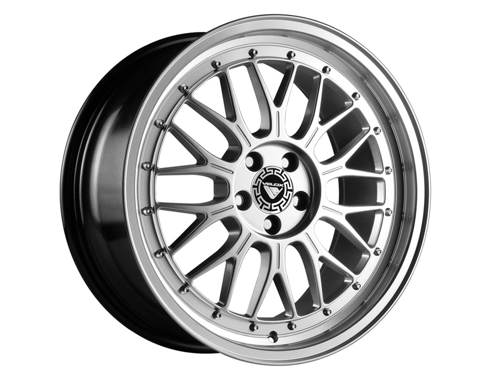 Velox Flight Hyper Silver Wheel 17x7.5 5x108 42 - VE504632