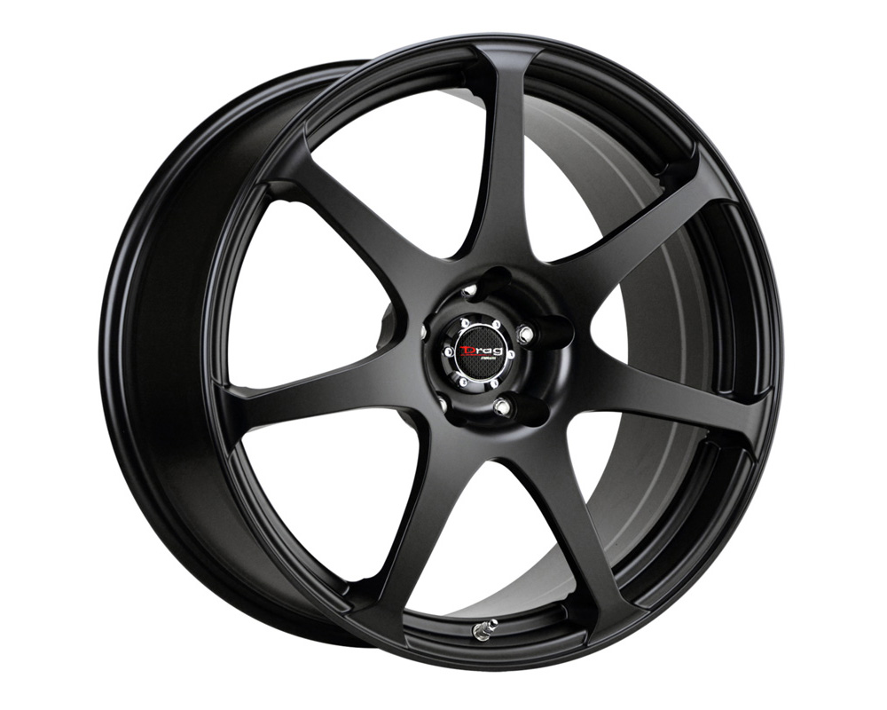 Drag DR-48 Flat Black Full Painted 19x8 5x112 32 - DR48198213266BF1